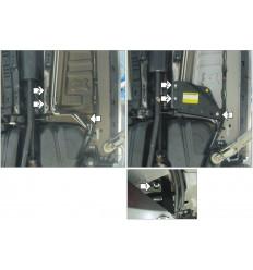 Защита трубок кондиционера Ford Explorer 00751