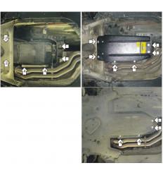 Защита КПП BMW 5-Series 00217