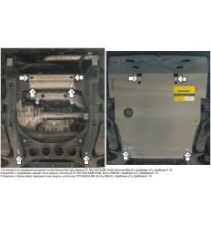 Защита картера Porsche Cayenne 32702