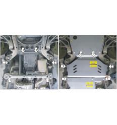 Защита КПП Porsche Cayenne 382703