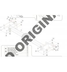 Фаркоп на Infiniti QX30 E2203AA
