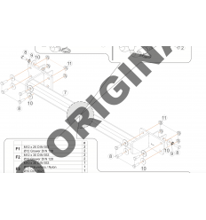 Фаркоп на Infiniti QX30 E2203AV