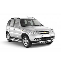 Рейлинги на крышу Chevrolet Niva 02010705