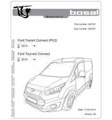 Фаркоп на Ford Transit Connect 040-161