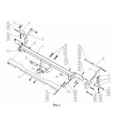 Фаркоп на Fiat Ducato FA06