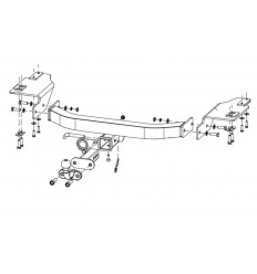 Фаркоп на Toyota Land Cruiser 200 24904938