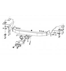Фаркоп на Lexus LX 570, 450D 24904938
