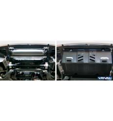 Защита радиатора Fiat Fullback 111.4046.1