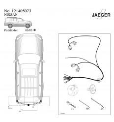 Электрика оригинальная к фаркопу на Nissan Pathfinder 12140507