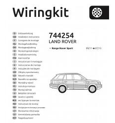 Электрика оригинальная на Range Rover Sport 744254