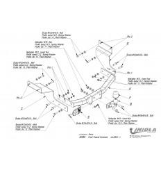 Фаркоп на Ford Tourneo Connect E/055