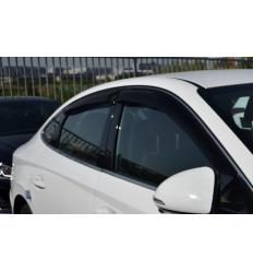 Дефлекторы боковых окон на Hyundai Sonata SHYSON1932