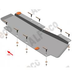 Защита тормозной магистрали Chery Tiggo 7 ALF0219.2st