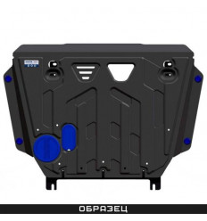 Защита радиатора BMW X3 ALF3425st