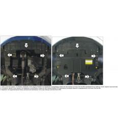 Защита картера и КПП Chevrolet Spark 03033