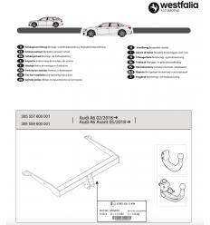 Фаркоп на Audi A6 305558600001