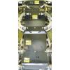 Защита картера, радиатора, КПП, РК и переднего дифференциала Ford Ranger 10703