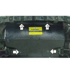 Защита радиатора Great Wall Safe 33101