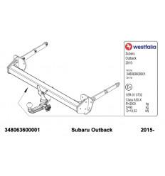 Фаркоп на Subaru Outback 348063600001
