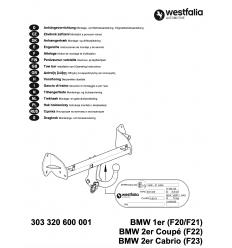 Фаркоп на BMW 1 303320600001