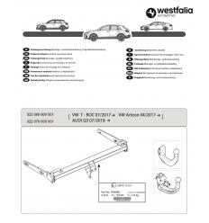 Фаркоп на Volkswagen Arteon 322070600001