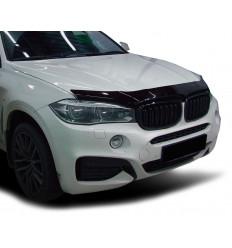 Дефлектор капота (отбойник) на BMW X6 SBMWX61412
