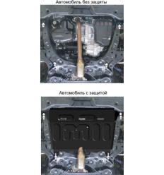 Защита картера и КПП Toyota Camry 72504