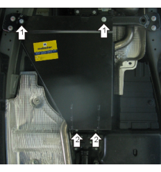 Защита РК Porsche Cayenne 12702