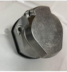 Розетка для фаркопа алюминиевая с пыльником ALMF