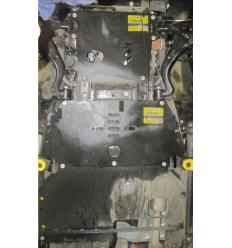 Защита картера, переднего дифференциала, КПП и РК Land Rover Discovery 13204