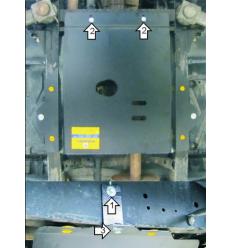 Защита РК Land Rover Defender 13212