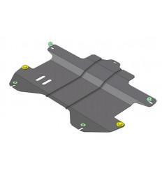Защита картера и КПП Chevrolet Spark 63004
