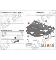 Защита картера и КПП Suzuki Vitara ALF2323st