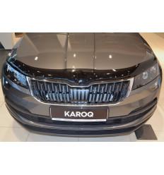 Дефлектор капота (отбойник) на Skoda Karoq SSCKAR1712
