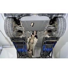 Защита картера, КПП, топливного бака и заднего редуктора Toyota Highlander ZKTCC00475K