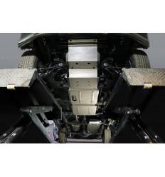 Защита картера, КПП, топливного бака, РК и переднего дифференциала Great Wall Wingle 7 ZKTCC00461K