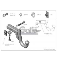 Шар вставка Galia для Hammer H2/H3/Cadillac Escalade H066A