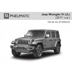 Амортизатор (упор) капота на Jeep Wrangler KU-JP-WR04-00