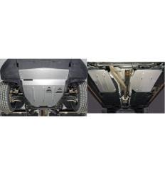 Защита картера, КПП, топливного бака и адсорбера Geely Tugella ZKTCC00478K