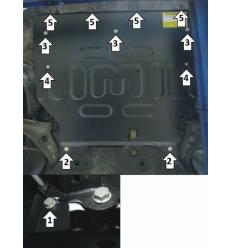 Защита картера и КПП CHERYEXEED TXL 79004