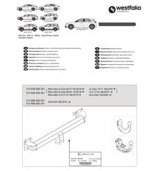 Фаркоп на Mercedes GLB-Class 313689600001