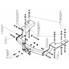 Фаркоп на Great Wall Hover H3 93102-FE