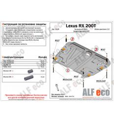 Защита картера и КПП Lexus RX ALF1214st