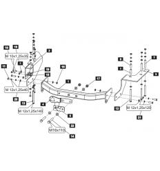 Фаркоп на Great Wall Hover H3 28181708E