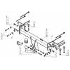 Фаркоп на Subaru Forester 92202-A