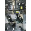 Защита абсорбера и топливного бака Kia Seltos 71002