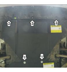 Защита картера Audi Q5 70103