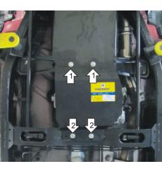 Защита РК Nissan NP300 11404