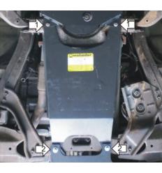 Защита КПП Chevrolet TrailBlazer 13010