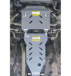 Защита картера Mercedes-Benz S-Class 01236
